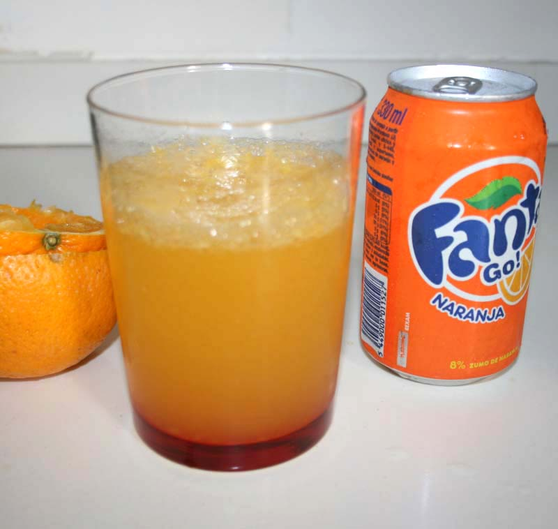 01. Refresco natural de naranja en blog de fitness