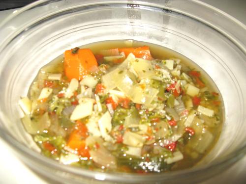 01. Sopa de verduras para Dieta Détox en blog de recetas fitness