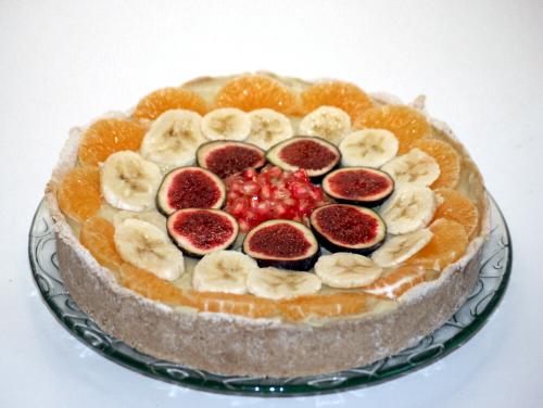 01. Tarta fitness de frutas en blog de fitness