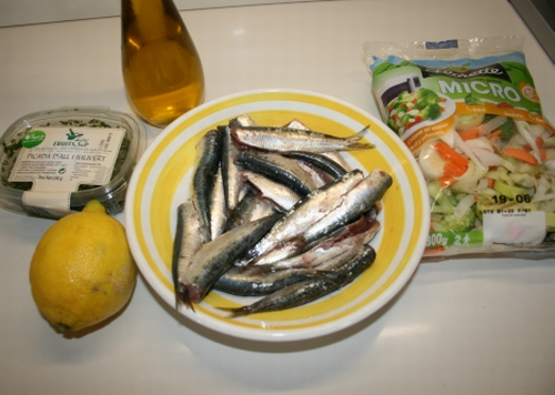 01. ingredientes sardinas al horno en blog de fitness