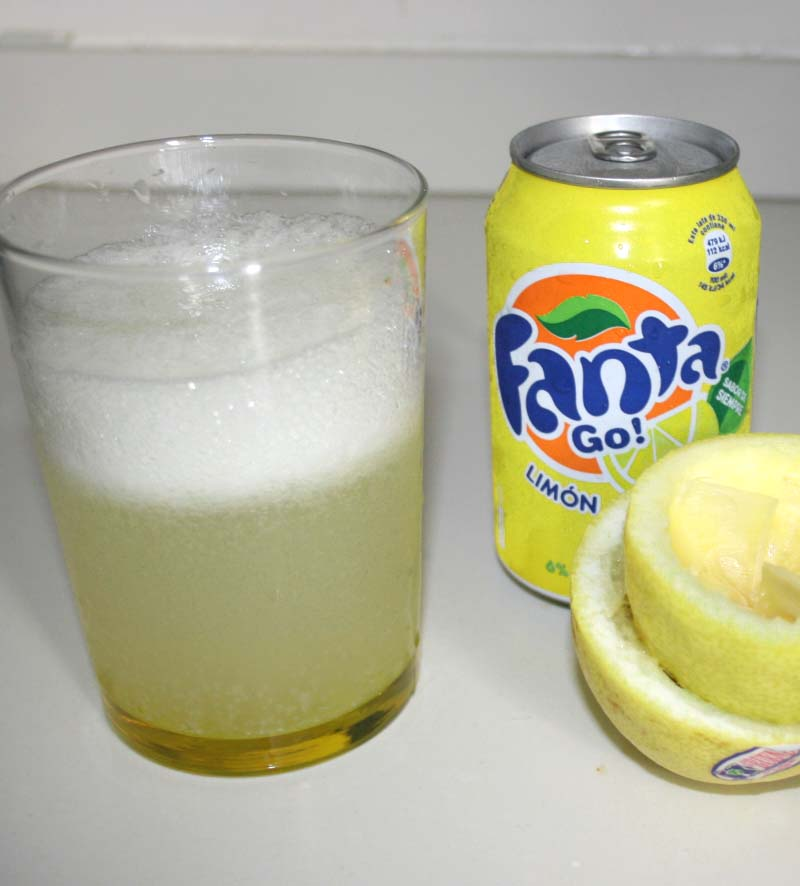 02. Refresco natural de limon en blog de fitness