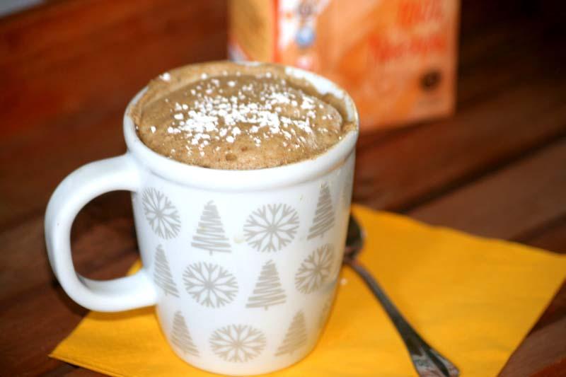 02. bodegon con mug cake fit de vainilla en blog de fitness para muejres