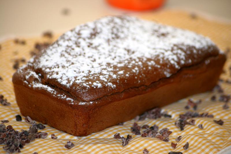 07. Bodegon del plumcake integral de chocolate y pera en blog de recetas fitness