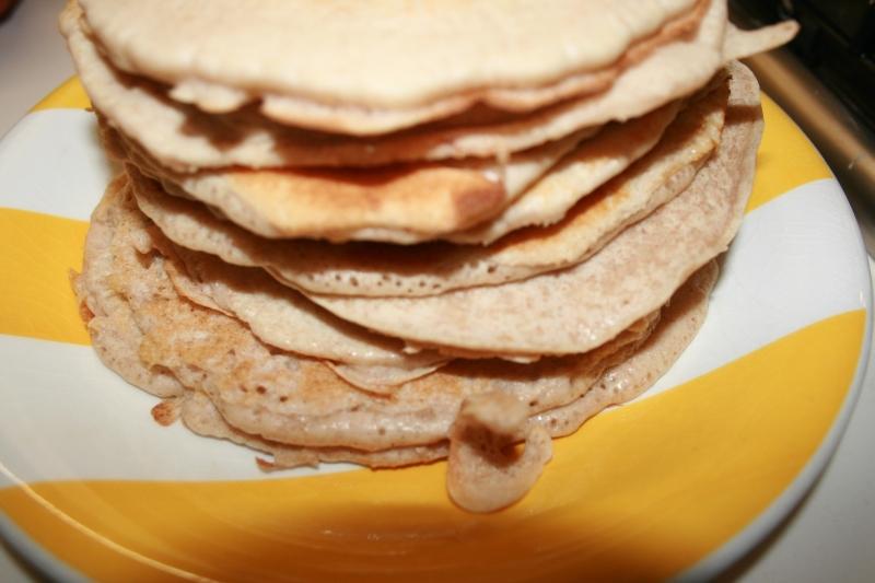 07 Torre de tortitas en blog de nutrición