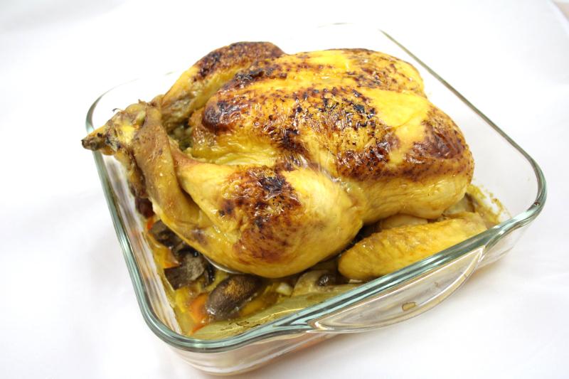09.Bodegon del pollo relleno al horno en blog de recetas fitness y blog de fitness para mujeres