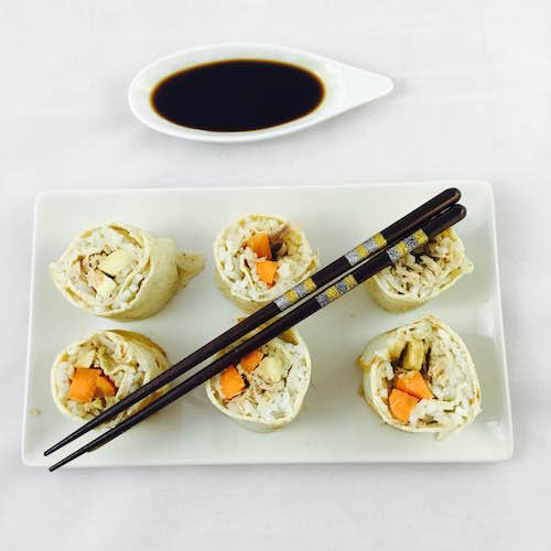 10. Bodegon pequeno para el sushi de tortilla y atun en blog de fitness para mujeres y blog de recetas fitness