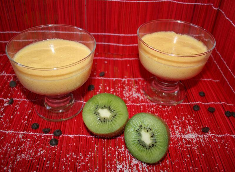 12. Presentación de la mousse de mango en blog de fitness2