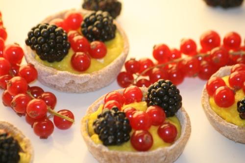 15 pequeña 500 Bodegon con las Tartaletas de frutos del bosque en blog de recetas fitness