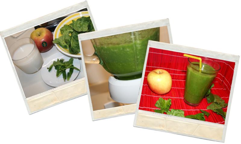 Batidos verdes o green smothies en blog de fitness y nutrición