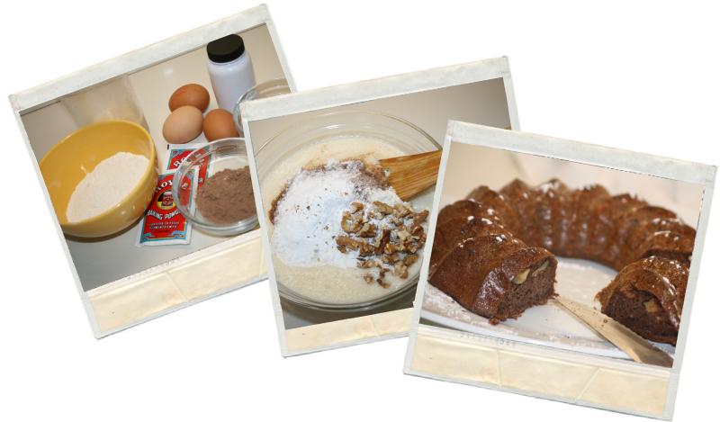 Bizcocho de chocolate y plátano en blog de fitness con recetas fitness