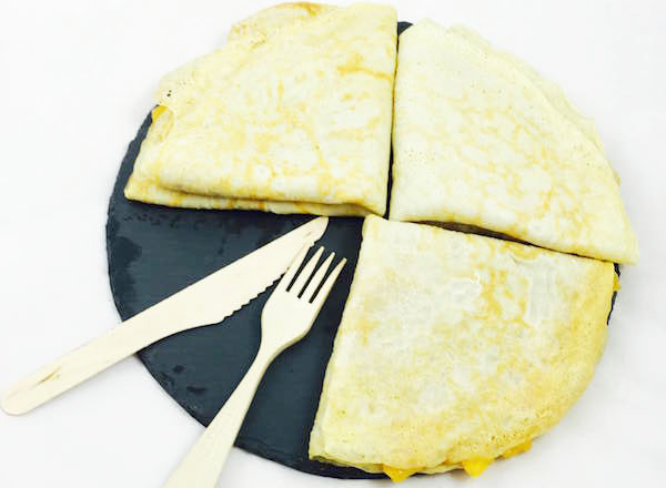 Crepes fit de avena en blog de recetas fitness