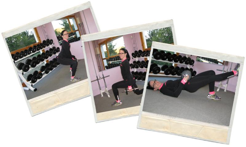 Entreno de glúteos y piernas en blog de fitness