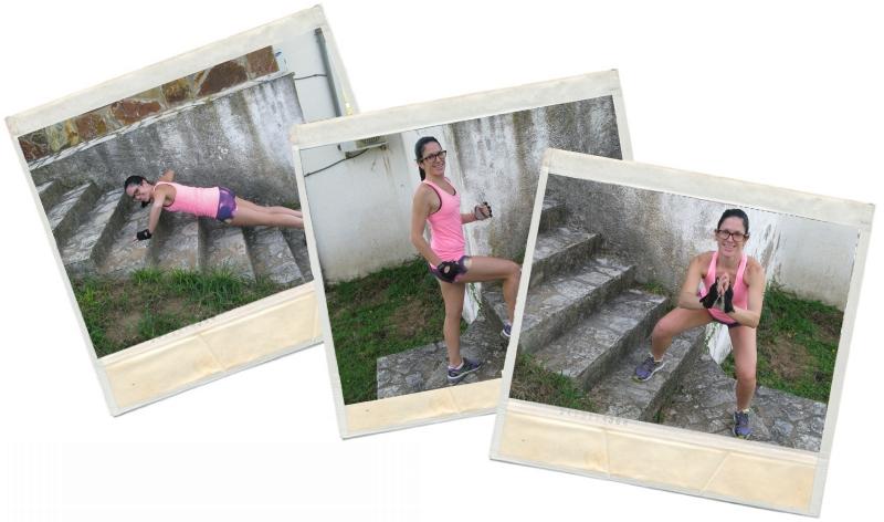 Entreno escaleras en blog de fitness y nutrición