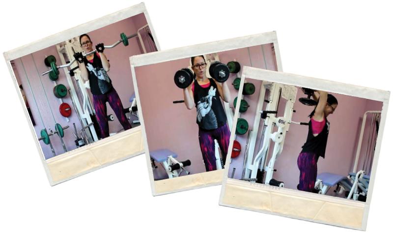 Masa muscular en biceps y triceps en blog de fitness para mujeres