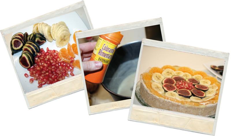 Tarta fitness de frutas en blog de recetas fitness