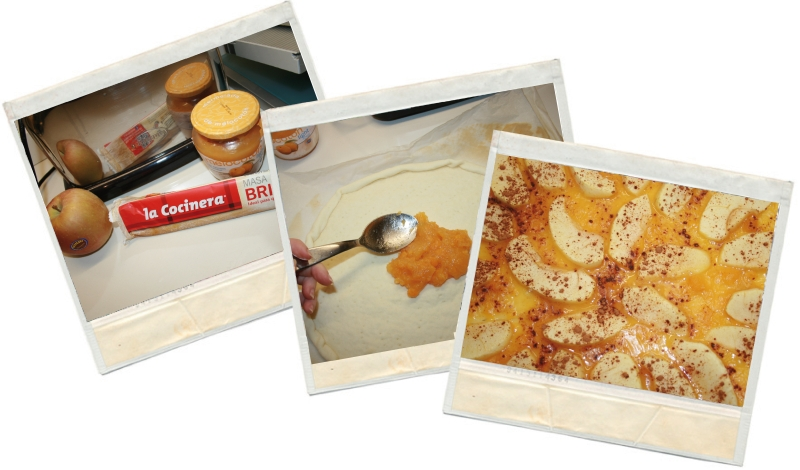 coca de manzana fit en blog de nutrición