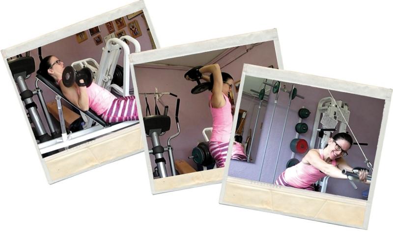 entreno de bíceps y triceps en blog de fitness y blog de nutrición