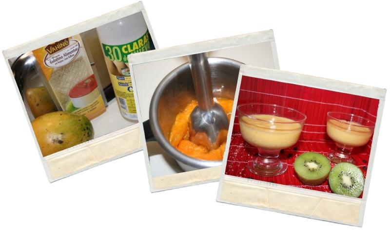 mousse de mango en blog de fitness y nutrición