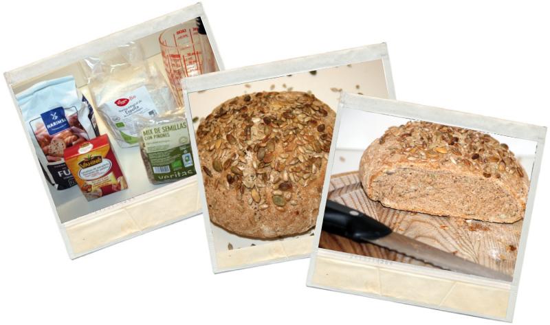pan integral de espelta en blog de recetas fitness