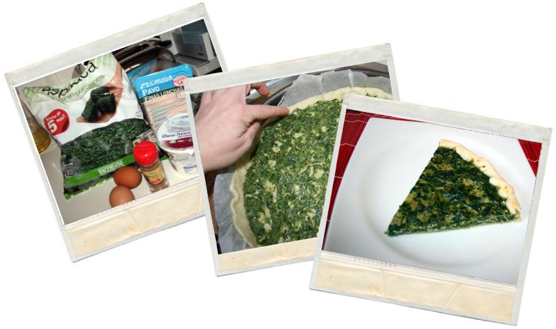 receta fit de quiche de espinacas fit en blog de fitness y blog de nutrición