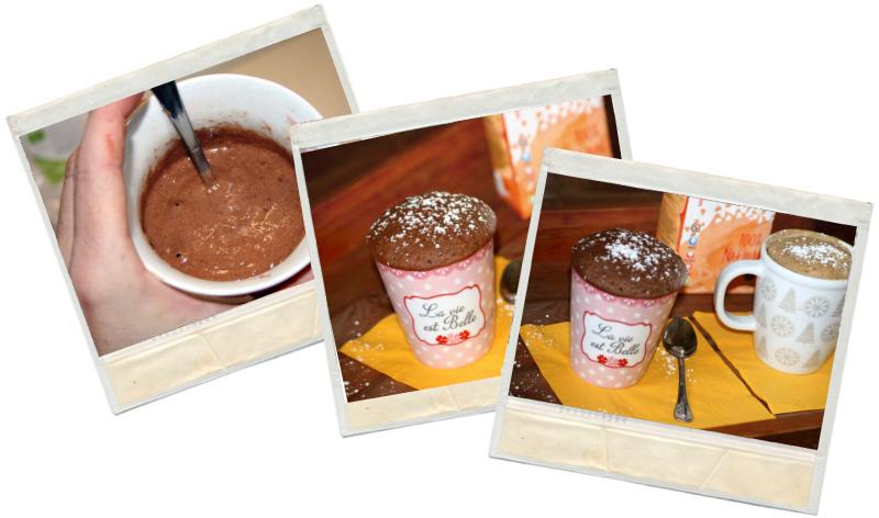 recetas ftiness para mug cake fit de chocolate y mug cake fit de vainilla